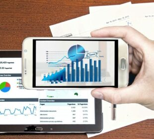 Analysis Business Hand Charts Audit Concept Data