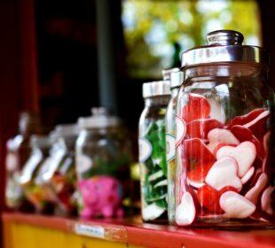 Candies Jars Candy Jars Assorted Candies Glass Jars