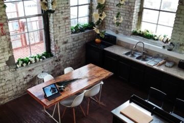 Inside, House, Wall, Window, Kitchen, Table, ChairsInside House Wall Window Kitchen Table Chairs